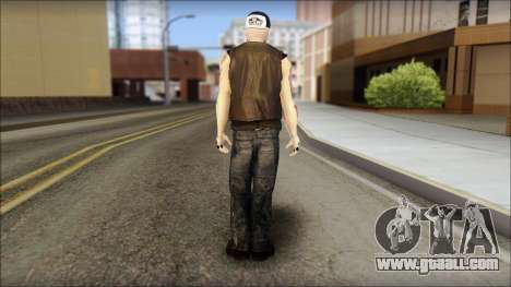 Benji from Good Charlotte for GTA San Andreas second screenshot