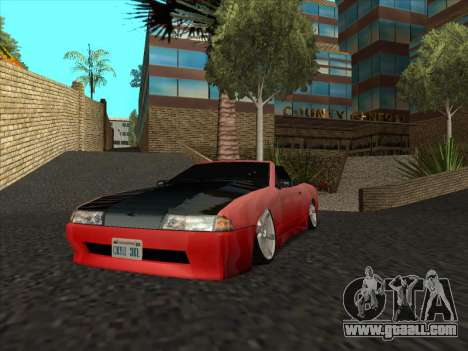 Elegy Cabrio HD for GTA San Andreas inner view