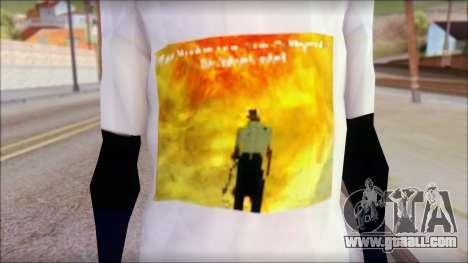 Monster von Back O Beyond T-Shirt for GTA San Andreas third screenshot