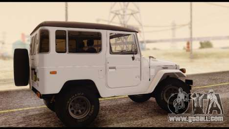 Toyota Land Cruiser (FJ40) 1978 for GTA San Andreas left view