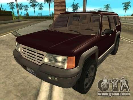 Landstalker from GTA 3 for GTA San Andreas