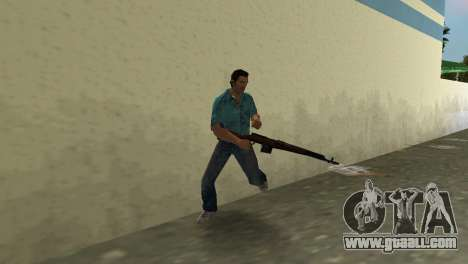 Self-Loading Rifle Tokareva for GTA Vice City forth screenshot