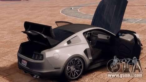 Ford Mustang GT 2014 Custom Kit for GTA 4 inner view
