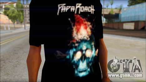 Papa Roach The Connection Fan T-Shirt for GTA San Andreas third screenshot