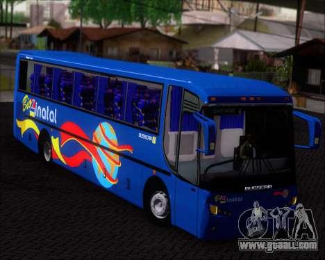 Busscar El Buss 340 Bio Linatal for GTA San Andreas inner view