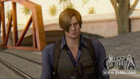 Leon .S.Kennedy v2 for GTA San Andreas third screenshot