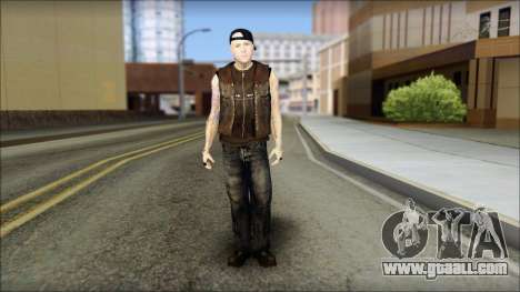 Benji from Good Charlotte for GTA San Andreas