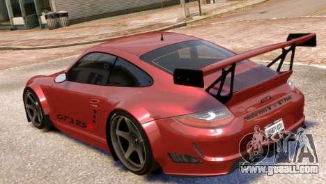 Porsche 911 GT3RSR for GTA 4 left view