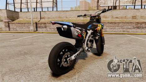 Yamaha YZF-450 v1.18 for GTA 4 back left view