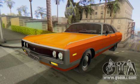 Chrysler New Yorker 1971 for GTA San Andreas right view