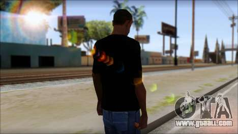 Destroyers T-Shirt Mod for GTA San Andreas second screenshot