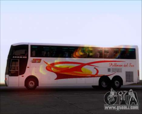 Busscar Jum Buss 400 Volvo B10R Pullman Del Sur for GTA San Andreas engine