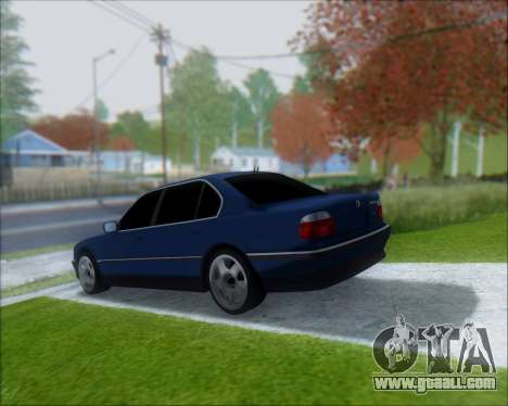BMW 7 E38 for GTA San Andreas left view
