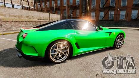 Ferrari 599 GTO PJ4 for GTA 4 left view