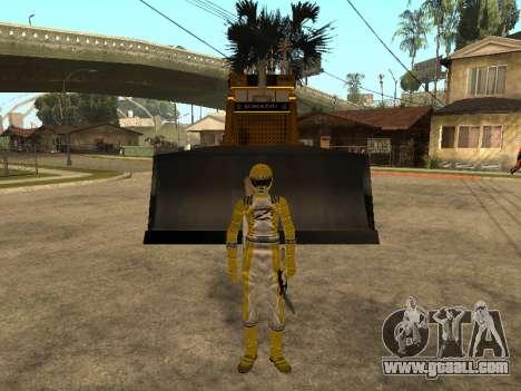 Power Rangers Operation Overdrive for GTA San Andreas third screenshot