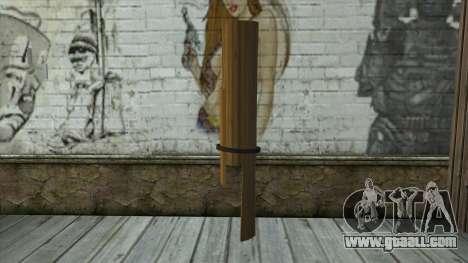 Senjata Kentongan Sahur for GTA San Andreas second screenshot