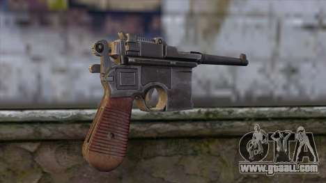 Mauser C-96 for GTA San Andreas second screenshot