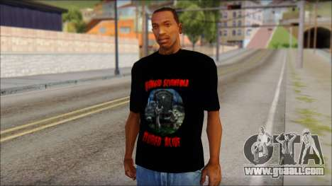 A7X Buried Alive Fan T-Shirt v1 for GTA San Andreas