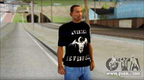 A7X Waking The Fallen Fan T-Shirt for GTA San Andreas