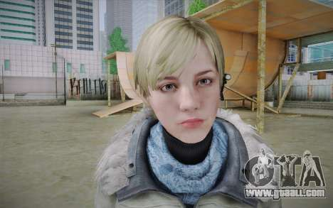 Sherry Birkin Europa from Resident Evil 6 for GTA San Andreas third screenshot
