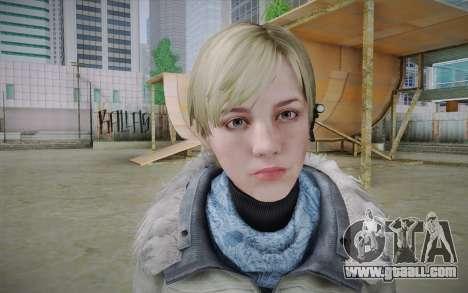 Sherry Birkin Europa from Resident Evil 6 for GTA San Andreas third screenshot