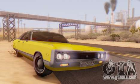 Chrysler New Yorker 1971 for GTA San Andreas upper view