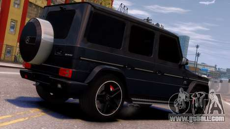 Mercedes-Benz G65 AMG v1.1 for GTA 4 right view