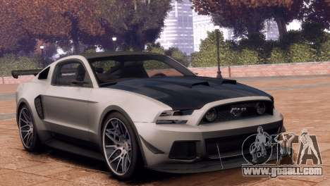 Ford Mustang GT 2014 Custom Kit for GTA 4 right view