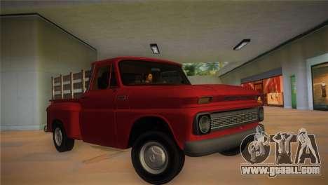 Chevrolet C10 for GTA Vice City