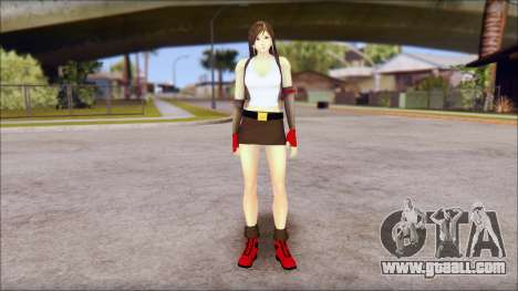 Final Fantasy VII - Tifa for GTA San Andreas