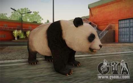 Giant Panda for GTA San Andreas