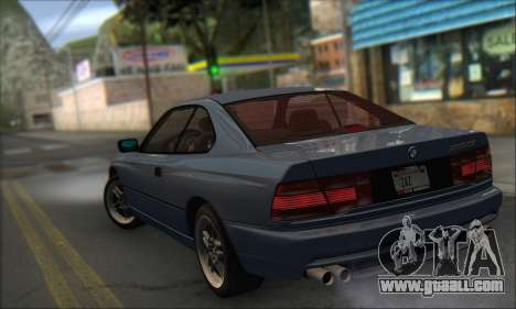 BMW E31 850CSi 1996 for GTA San Andreas left view