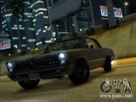 Lime ENB v1.1 for GTA San Andreas