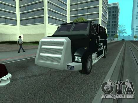 Securicar из GTA 3 for GTA San Andreas