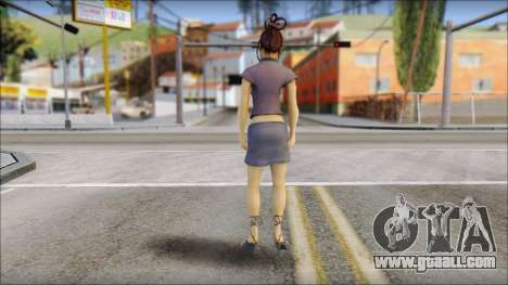 Girl on heels for GTA San Andreas second screenshot
