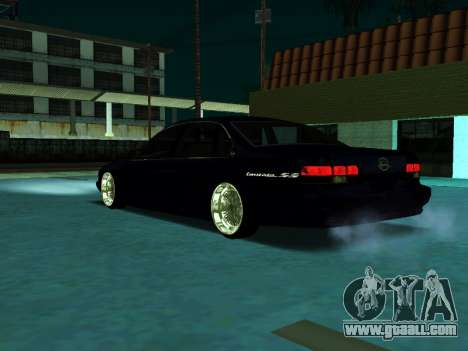 Chevrolet Impala SS 1995 for GTA San Andreas back left view