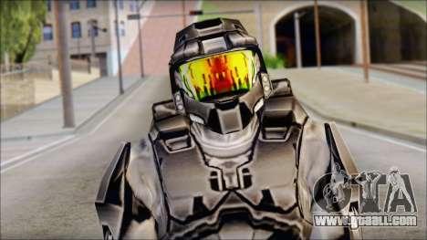 Masterchief Black from Halo for GTA San Andreas third screenshot