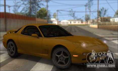 Mazda RX-7 1991 for GTA San Andreas left view