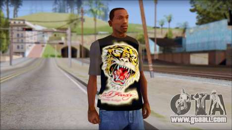 Ed Hardy T-Shirt for GTA San Andreas