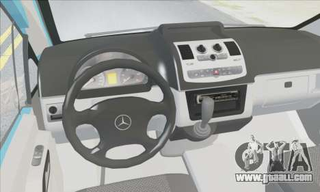 Mercedes-Benz 115 CDI Vito 2007 Stance for GTA San Andreas inner view