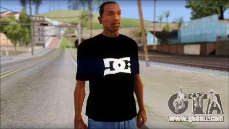 DC Shoes Shirt for GTA San Andreas