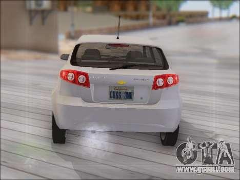 Chevrolet Lacetti for GTA San Andreas right view
