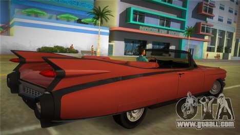 Cadillac Eldorado for GTA Vice City left view