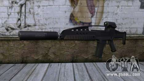 XM8 Assault Black for GTA San Andreas