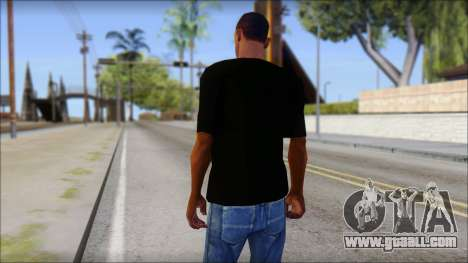 Anarchy T-Shirt Mod v2 for GTA San Andreas second screenshot