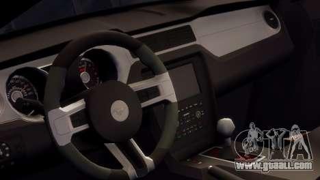 Ford Mustang GT 2014 Custom Kit for GTA 4 side view