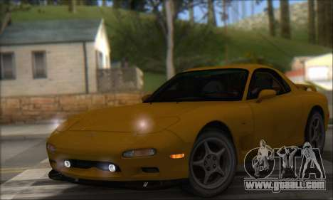 Mazda RX-7 1991 for GTA San Andreas