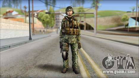 Forest UDT-SEAL ROK MC from Soldier Front 2 for GTA San Andreas