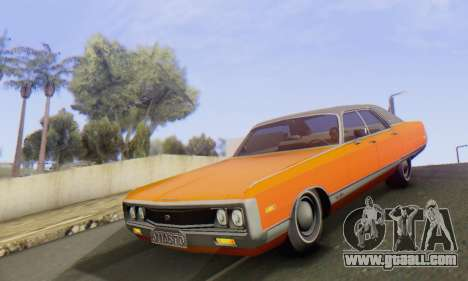 Chrysler New Yorker 1971 for GTA San Andreas inner view