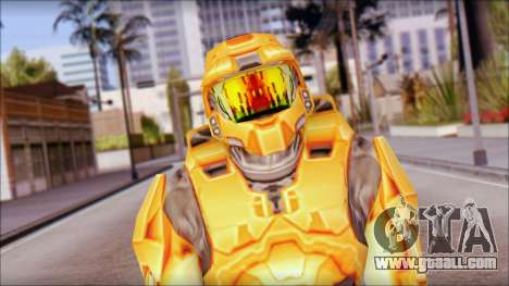 Masterchief Orange for GTA San Andreas
